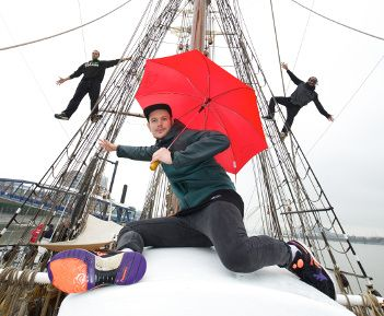 Tall Ship visit marks Royal Greenwich Festivals launch