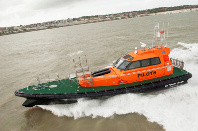 New British built pilot boat for the Thames and Medway