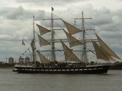 Belem later, off Gravesend