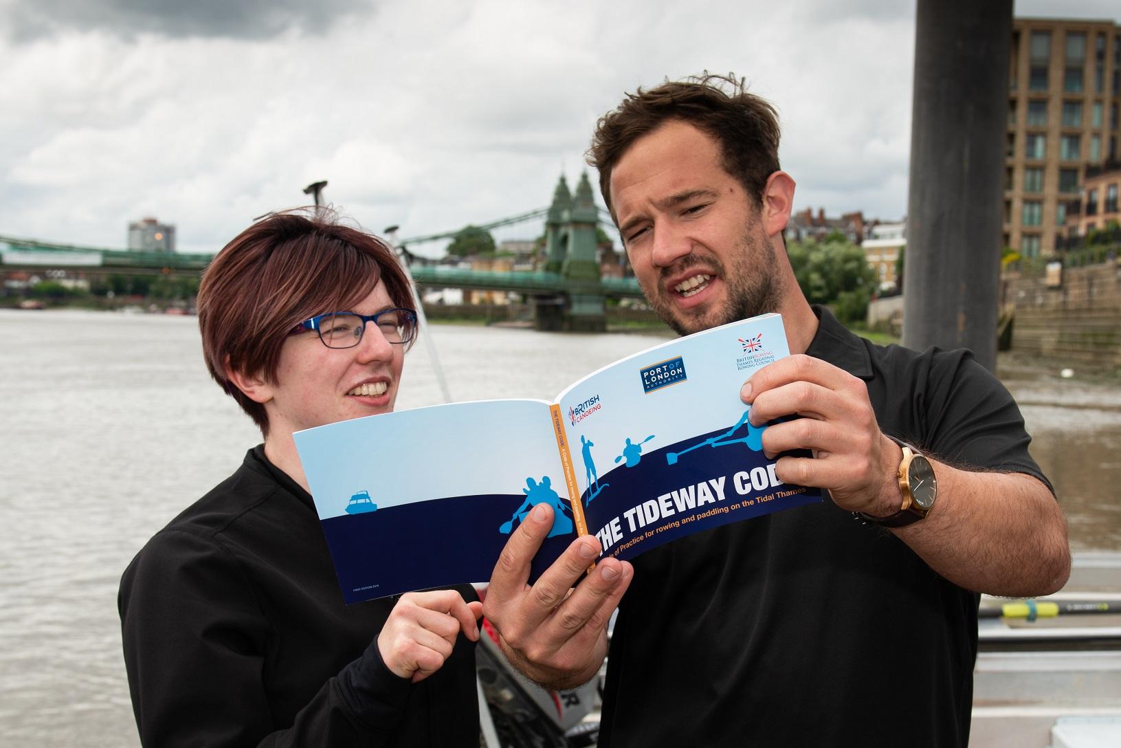 Tidal Thames rowing and paddling safety guide sets sail
