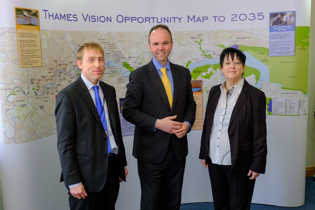 Minister for London: River Thames Central to London's Growth