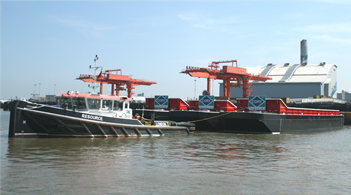 Cory Riverside takes delivery of three new barges