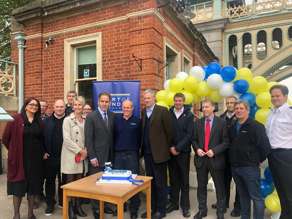 MP visits Richmond Lock and Weir on its 125th Birthday