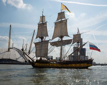 Six months to go until Tall Ships fleet anchors in Royal Greenwich