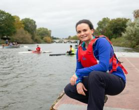 Jenny's new mission to get everyone active on the tidal Thames