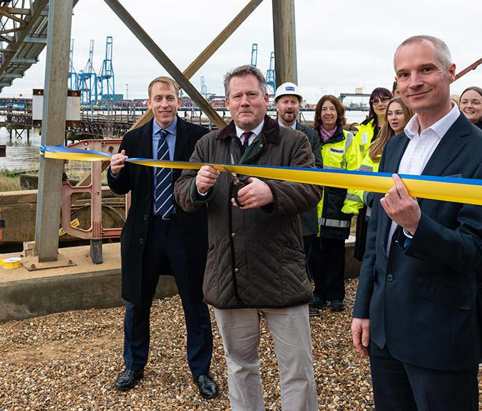 Kent wharf investment boosts delivery of building materials into London by river
