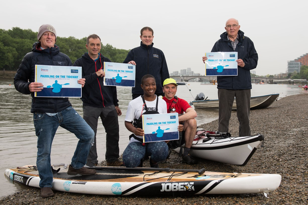 New Guide for Paddlers on the Thames