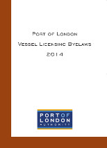 Port of London Vessel Licensing Byelaws 2014