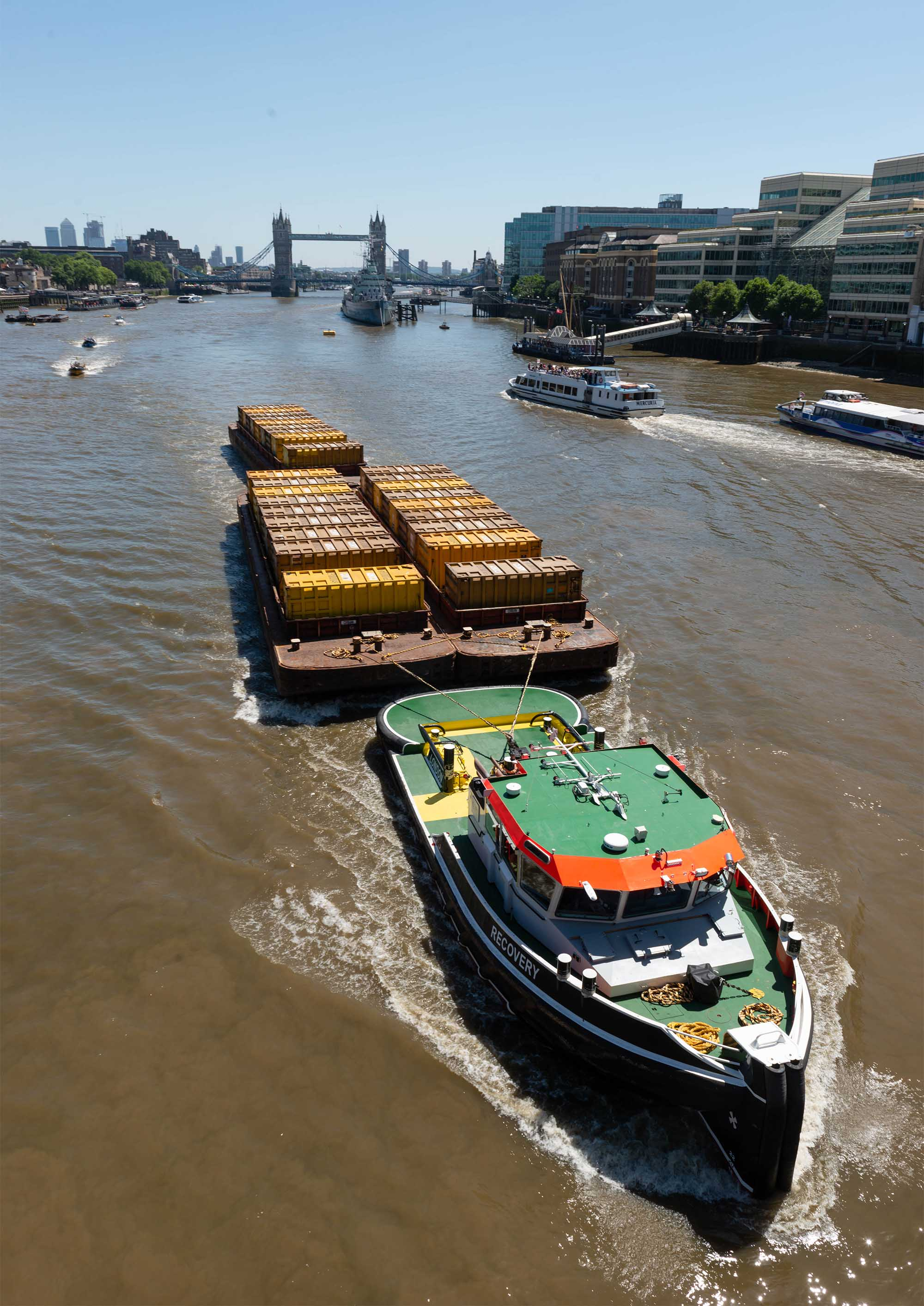Freight on the rise as Thames Vision strategy starts to bear fruit