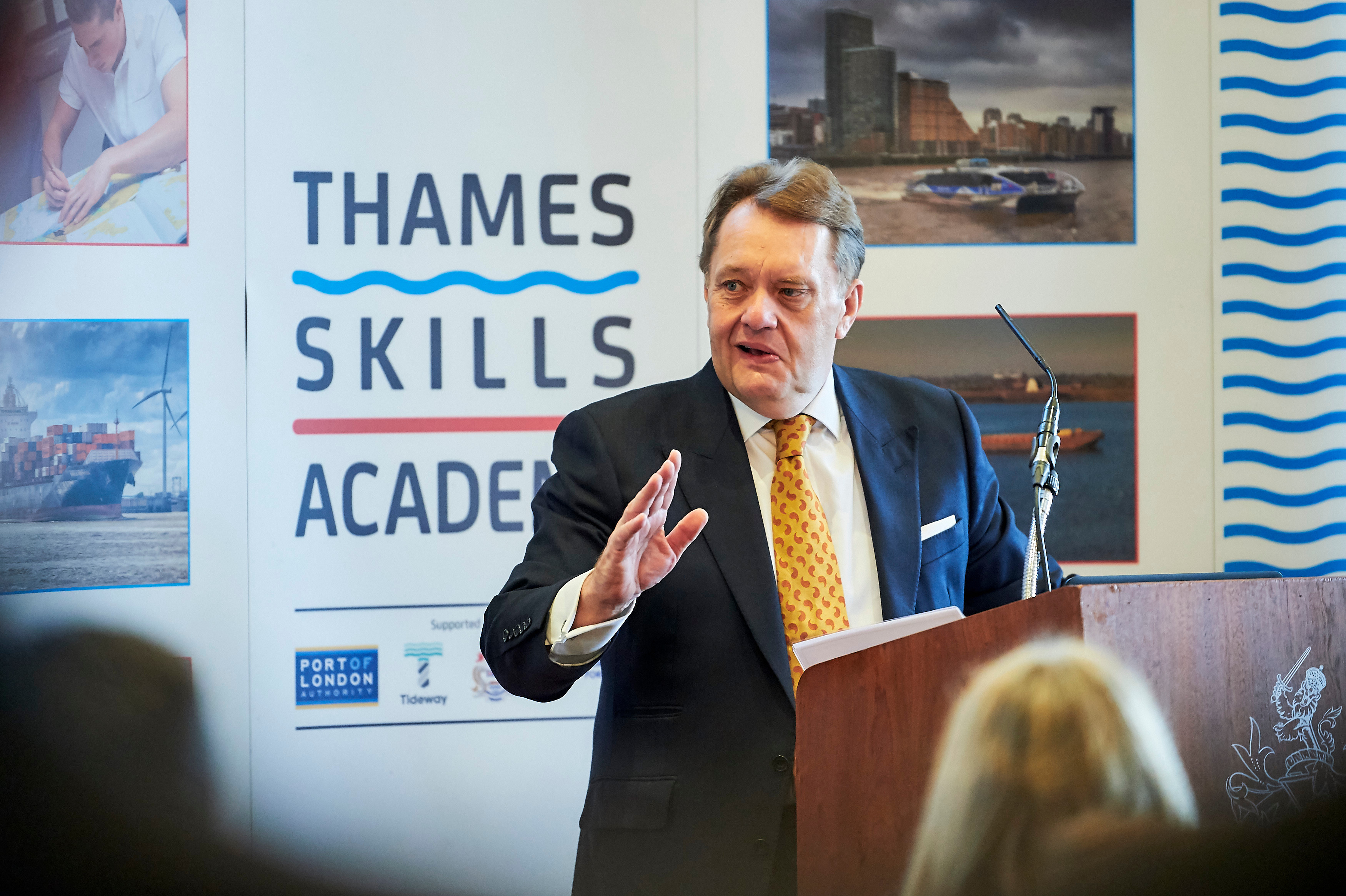 Shipping Minister Hails Thames Careers Open Day
